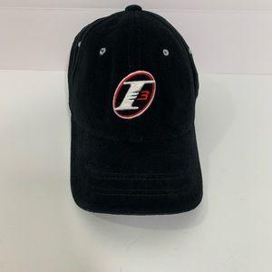 Reebok Allen Iverson Black Velour Cap Hat OSFA